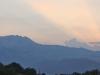 Sonnenuntergang Mont Albo